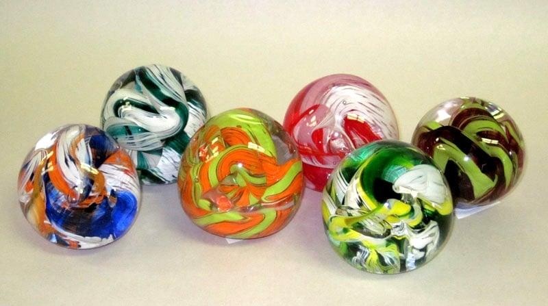 Swirl Paperweights