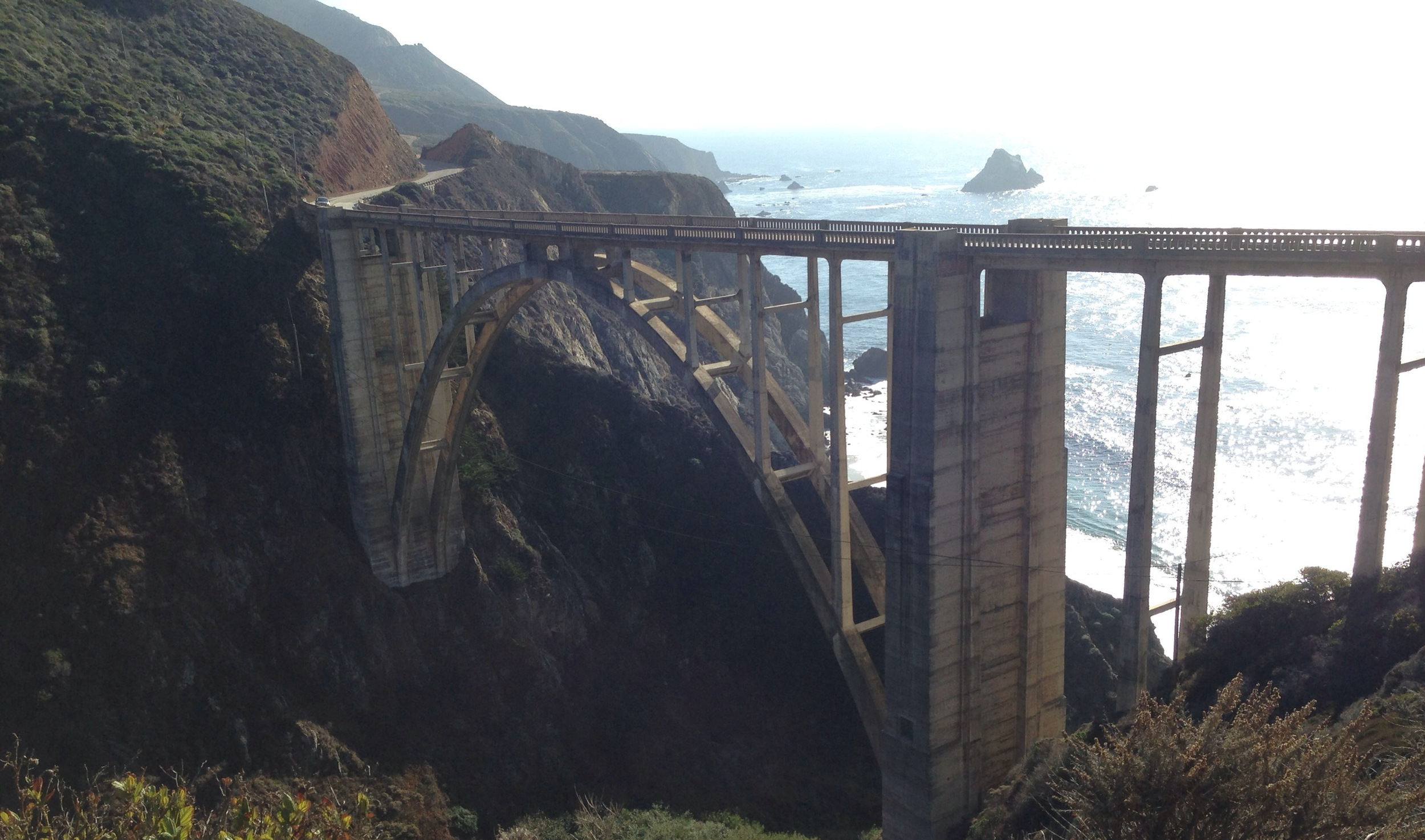 Bixby Canyon Bridge (yes, from the Death Cab song)