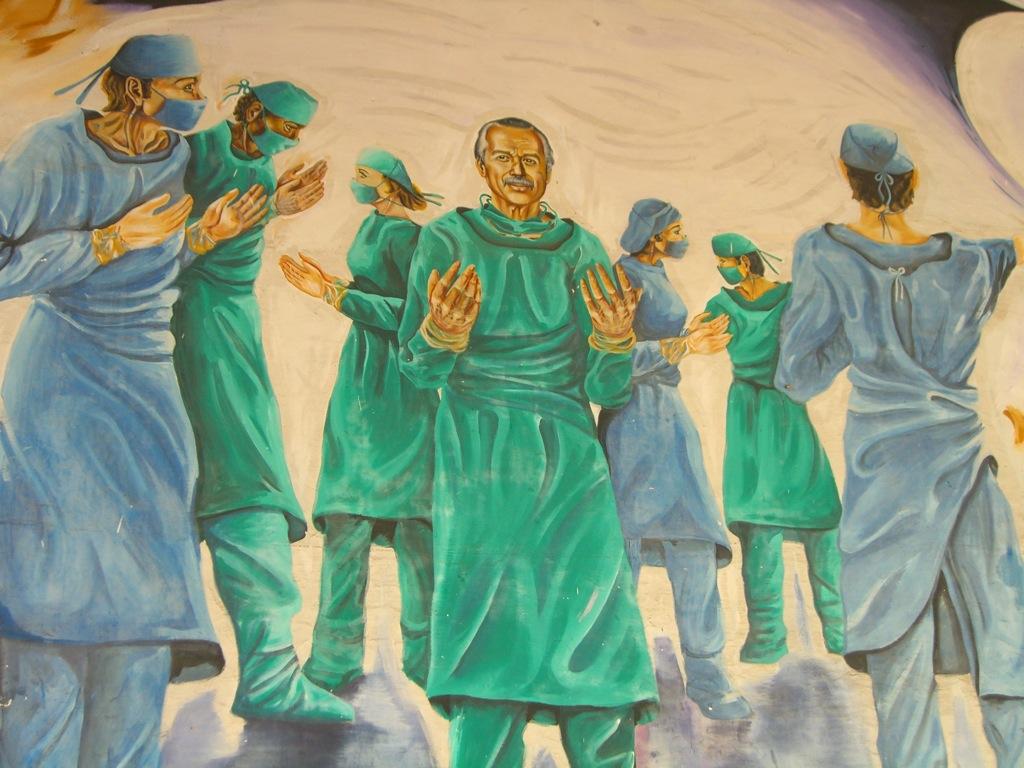 Medical School Mural I, by Sam Blackman