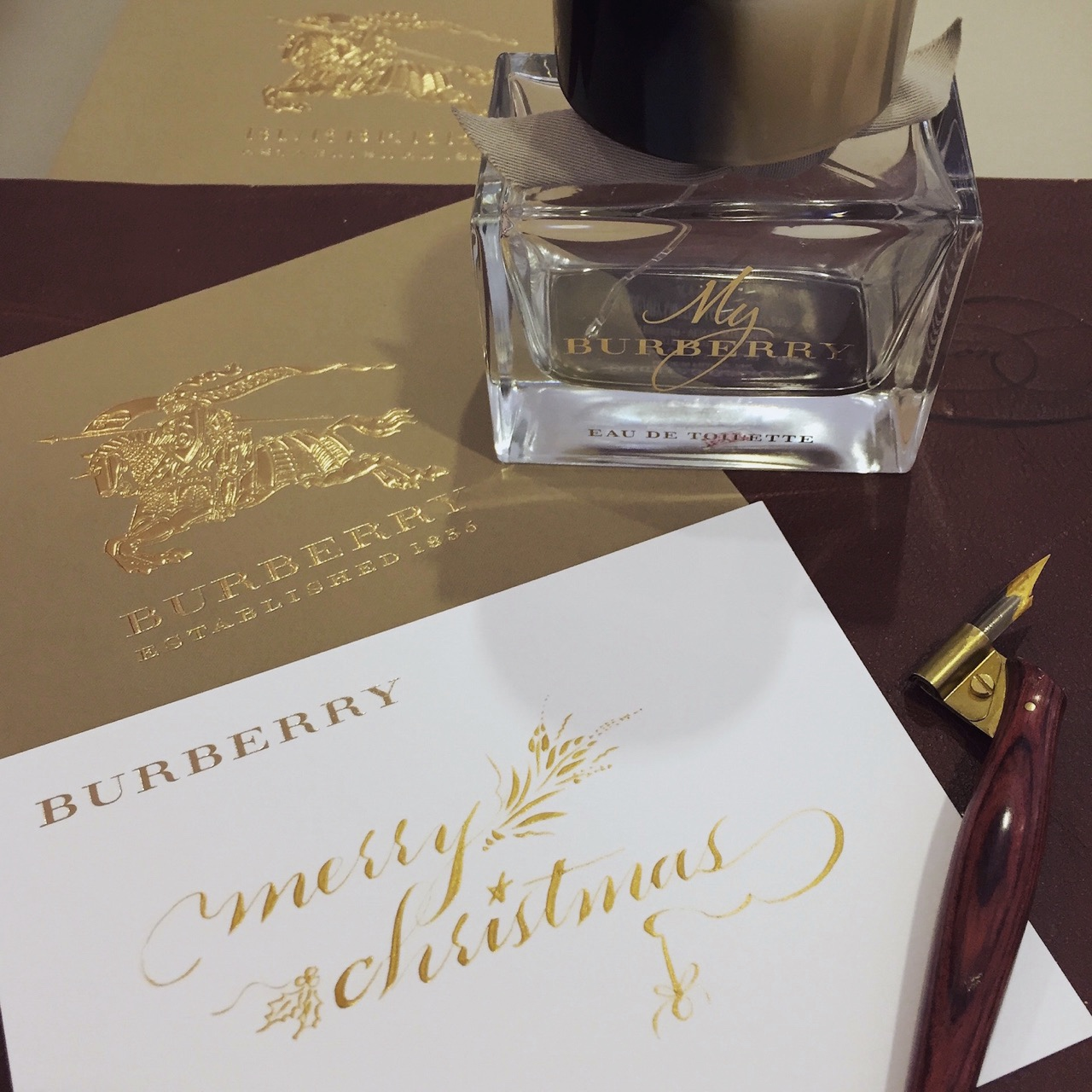 Holiday Events for Burberry Fragrances at Macy's State Street