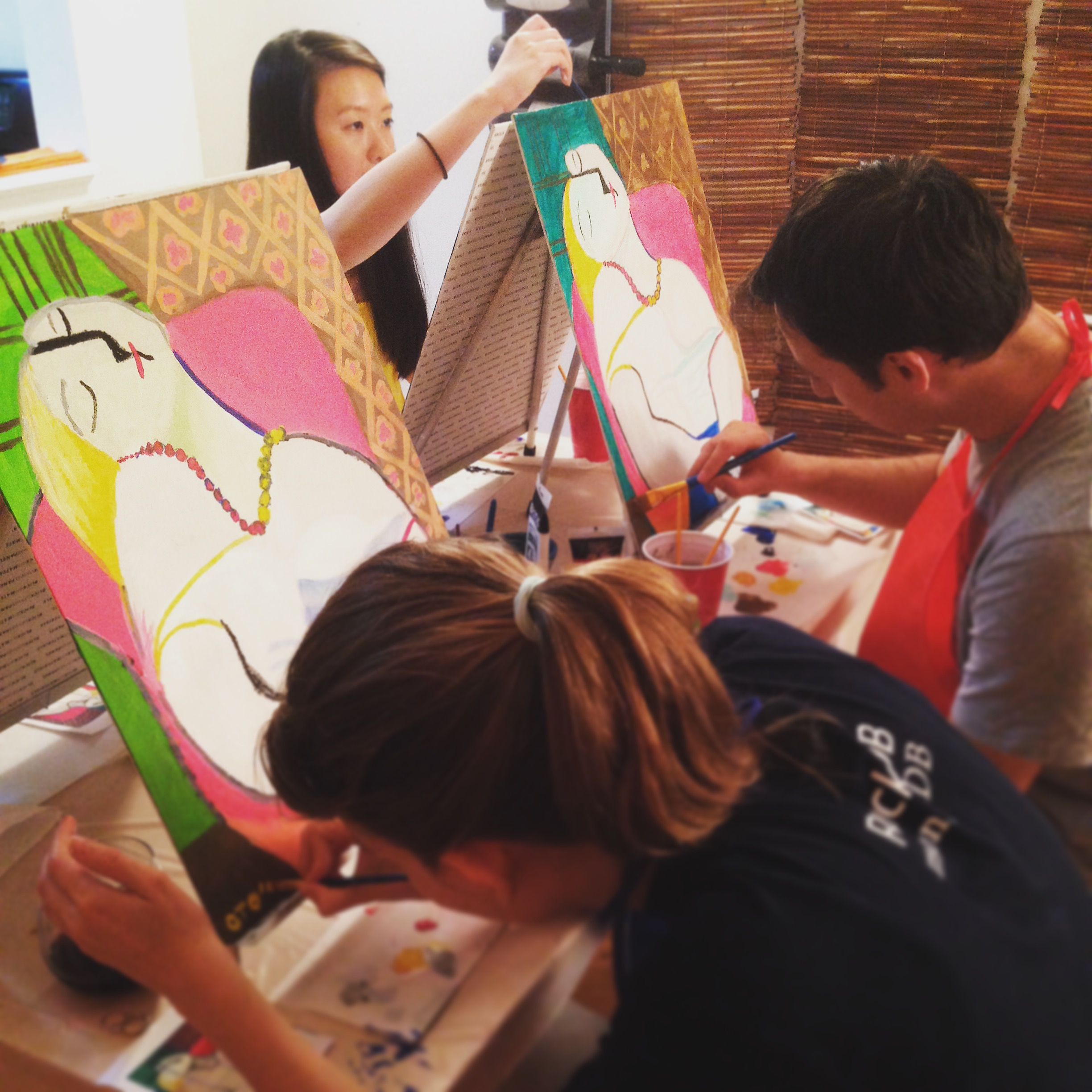 ART BOX painting experience with Picasso