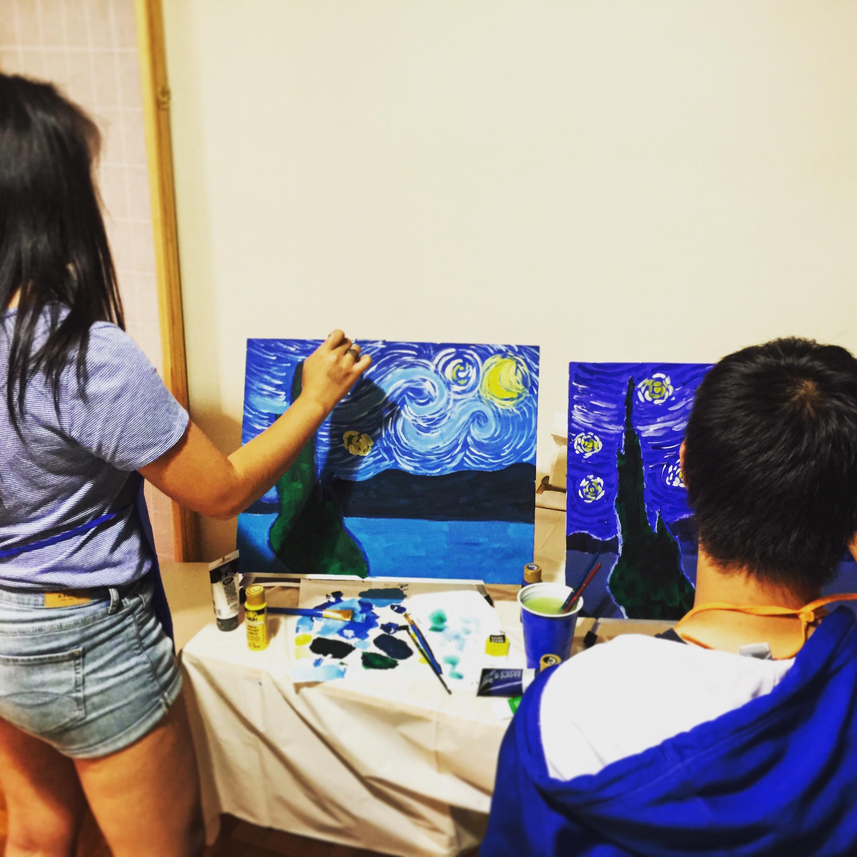 ART BOX Starry Night