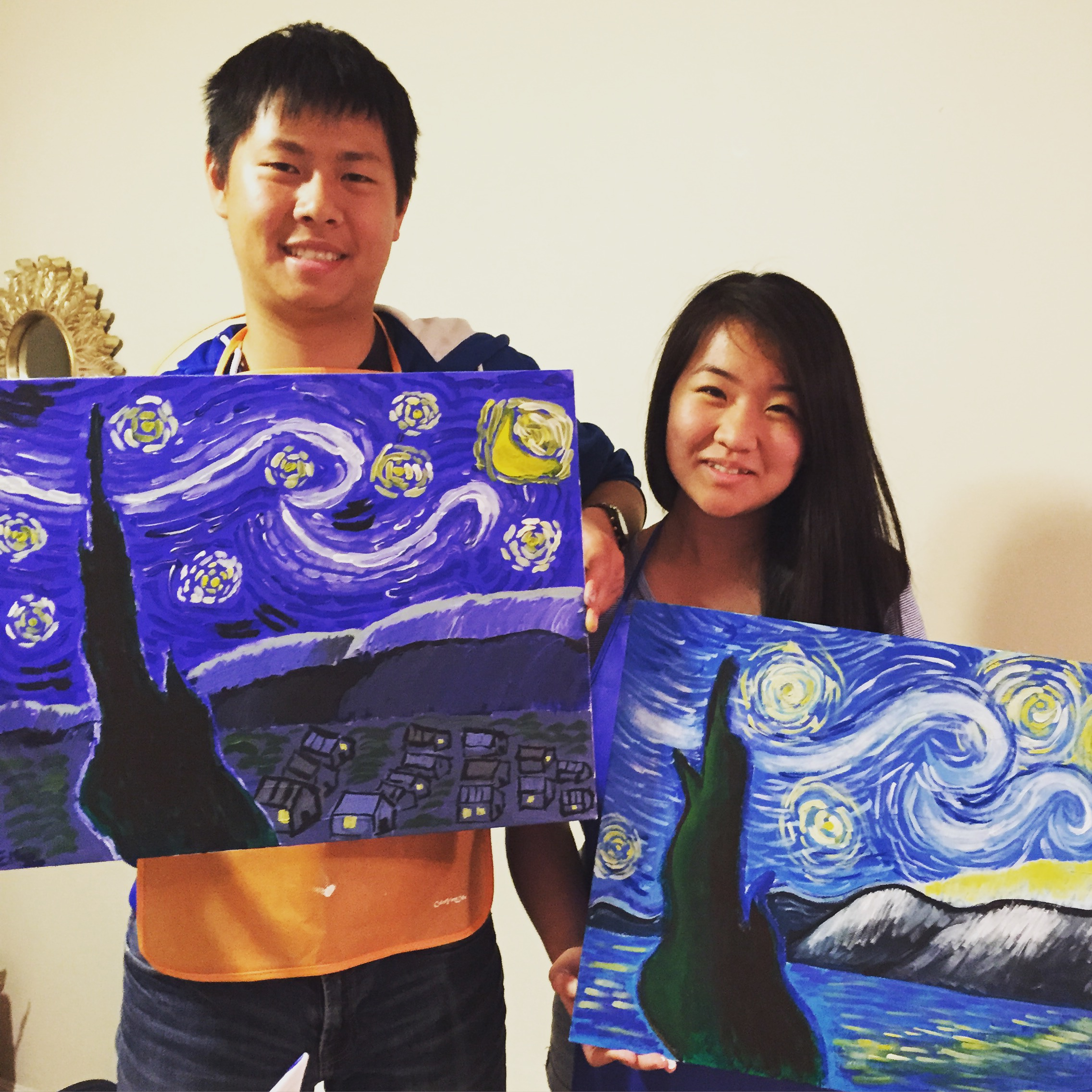 ART BOX Painting - Starry Night