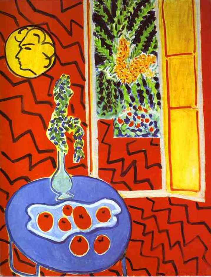 Matisse - Red Interior