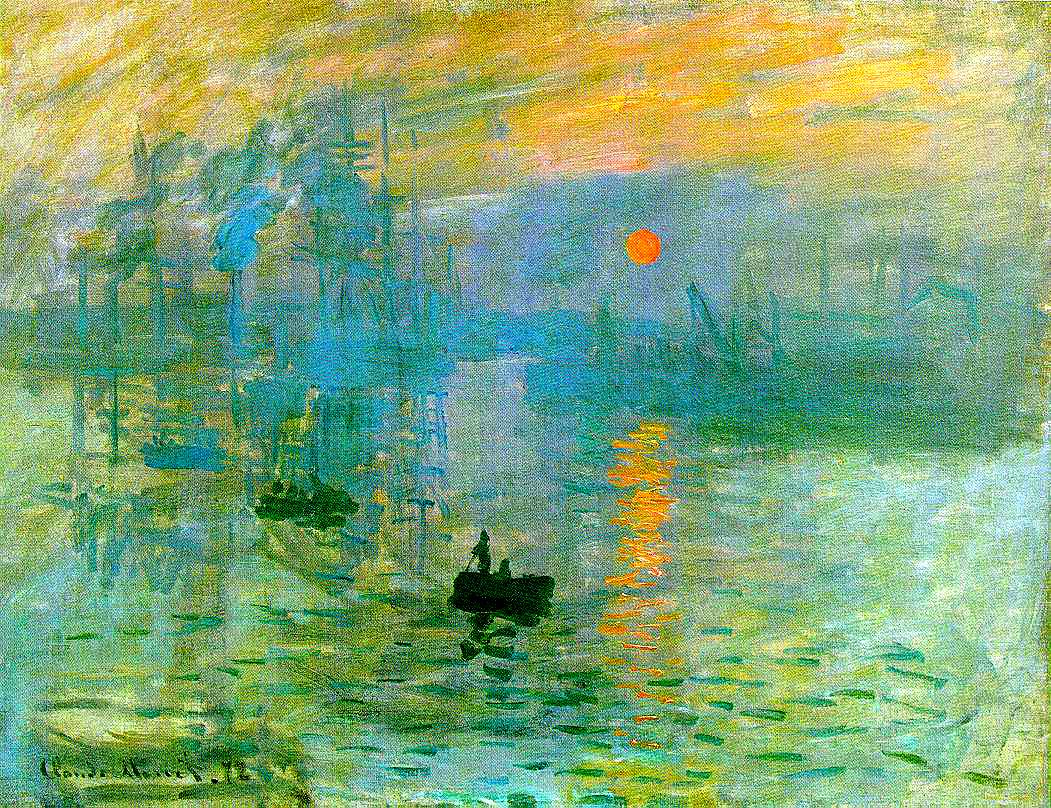 Monet's Sunrise