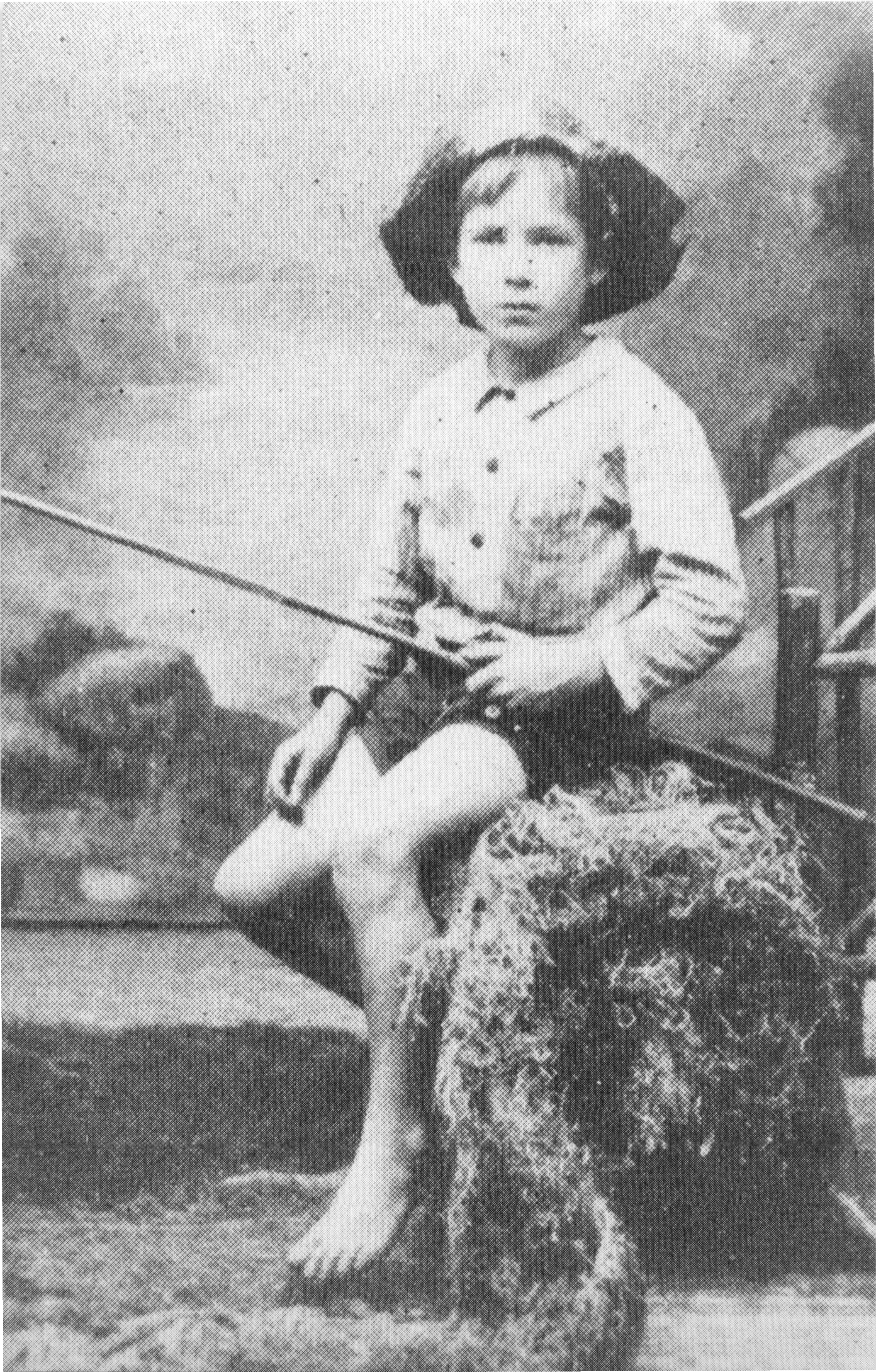 James Oliver Curwood at Age 7