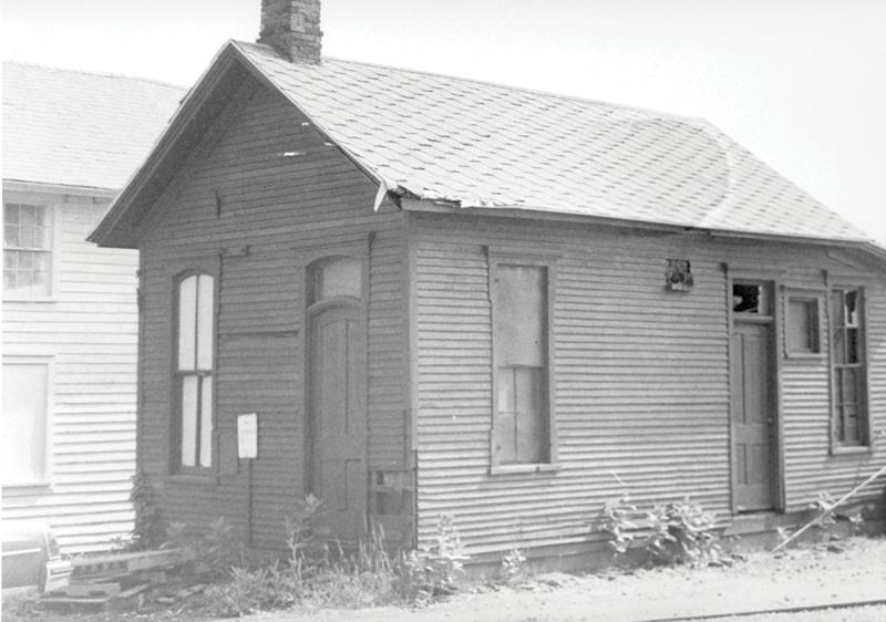 Woodard Paymaster Building: Circa 1960's