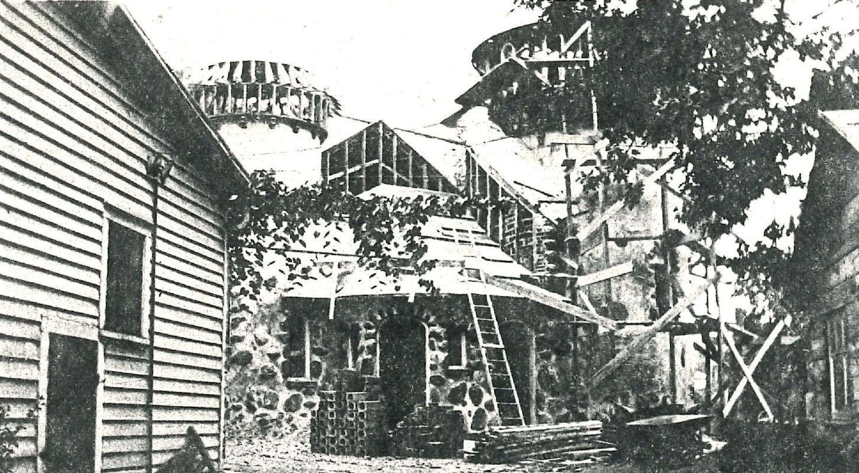 Rare photo of castle under construction circa 1922 #3.jpg
