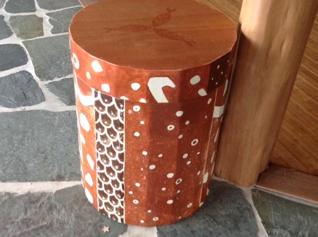 Oceanic Cedar Chest Drum