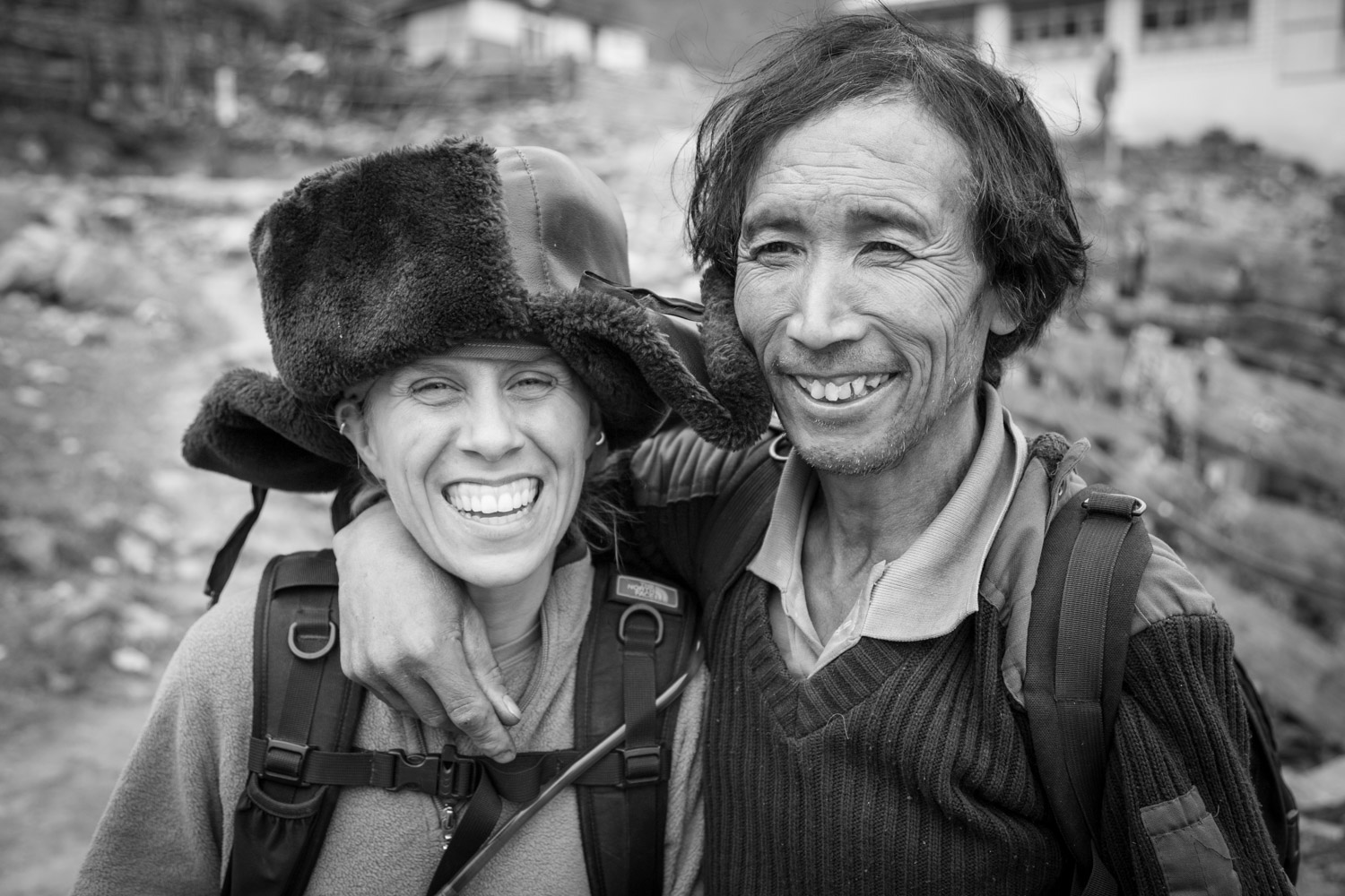 Friendly Stranger in Nepal