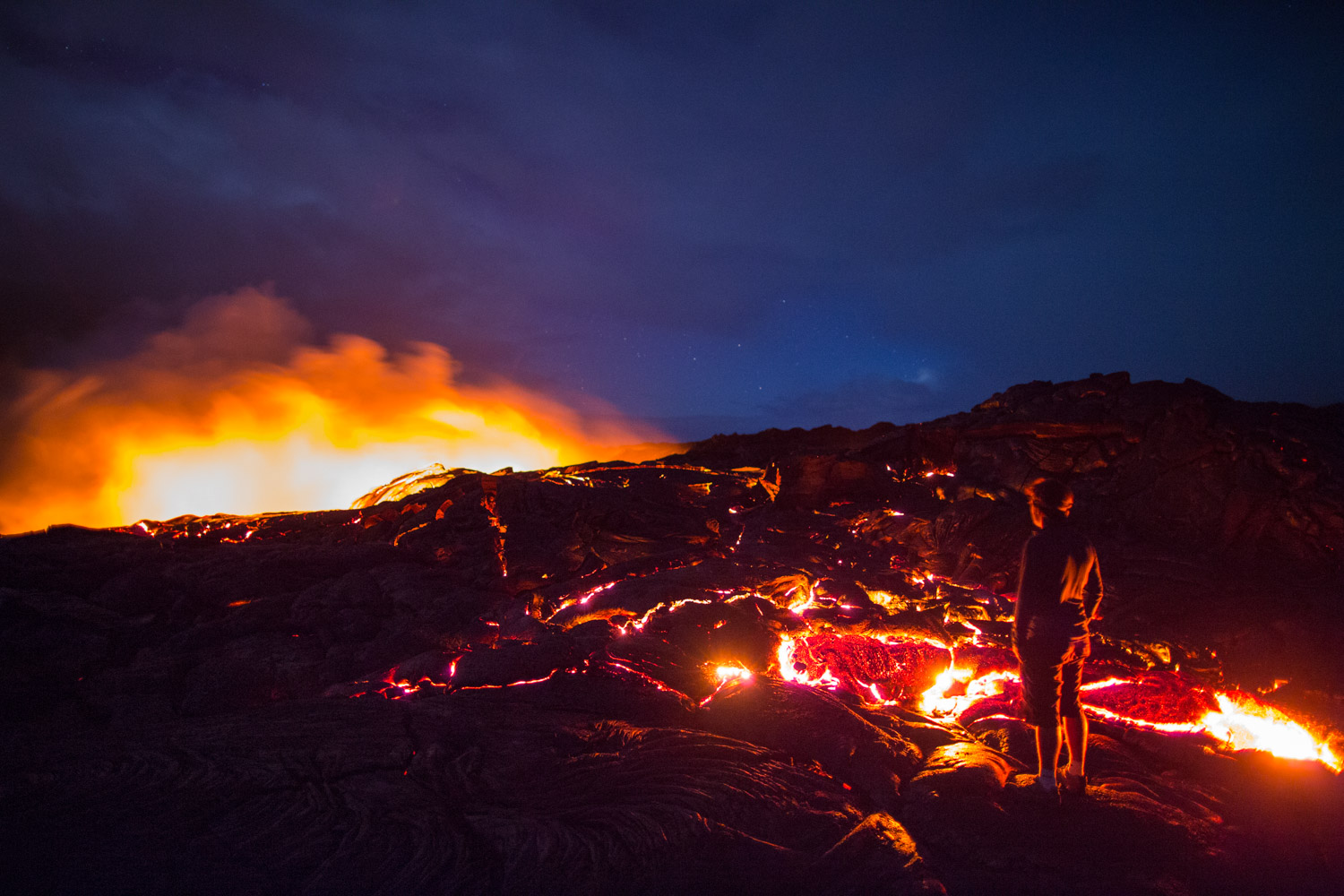 Kalapana Lava Flow, Big Island, Hawaii