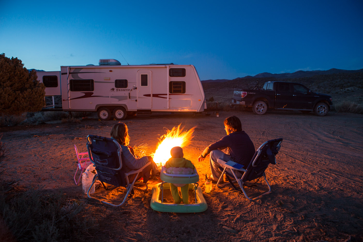 Family Camping, California
