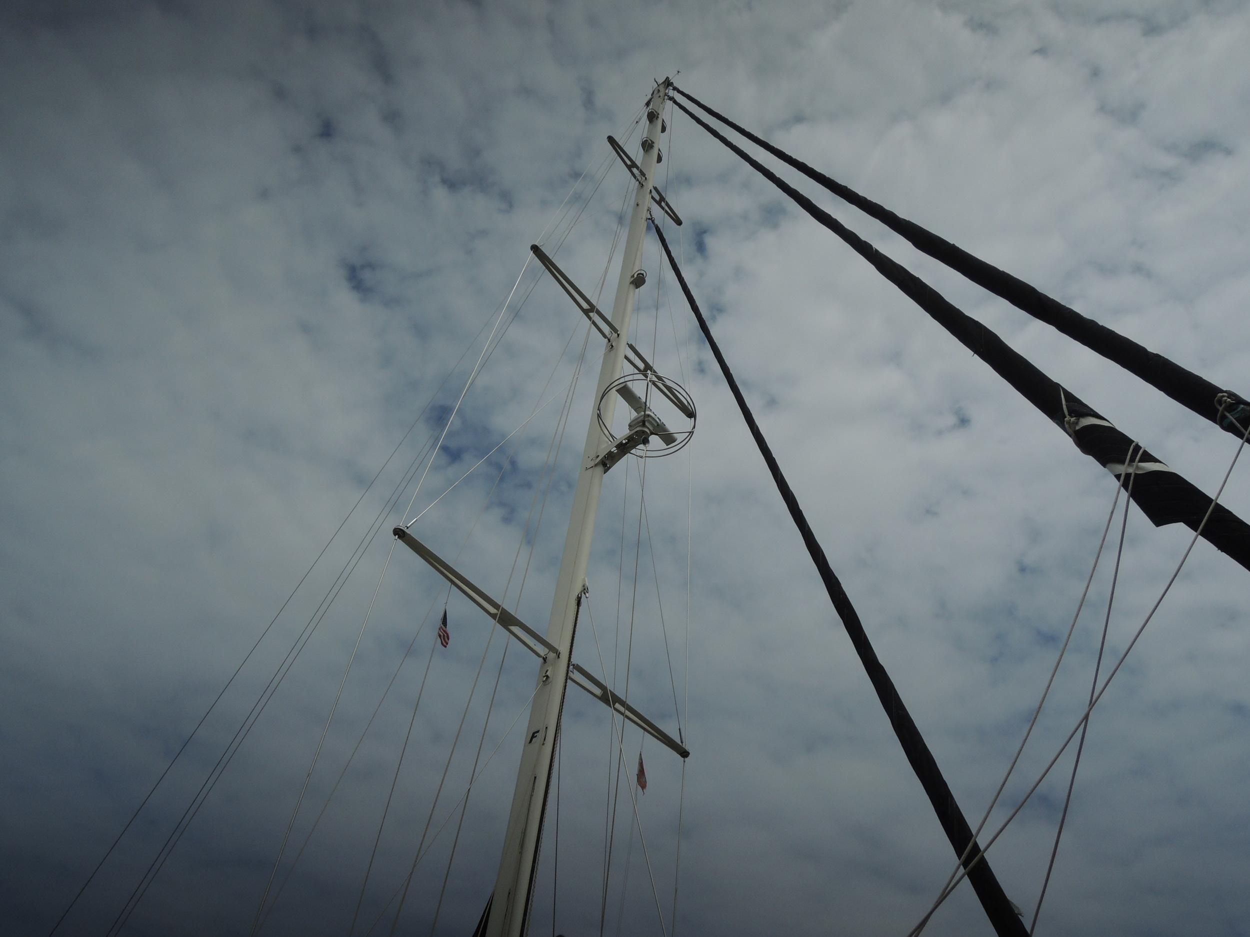 A boats mast