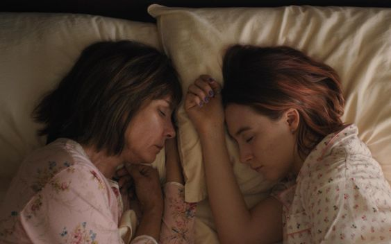 Marion and Lady Bird - all rights to A24