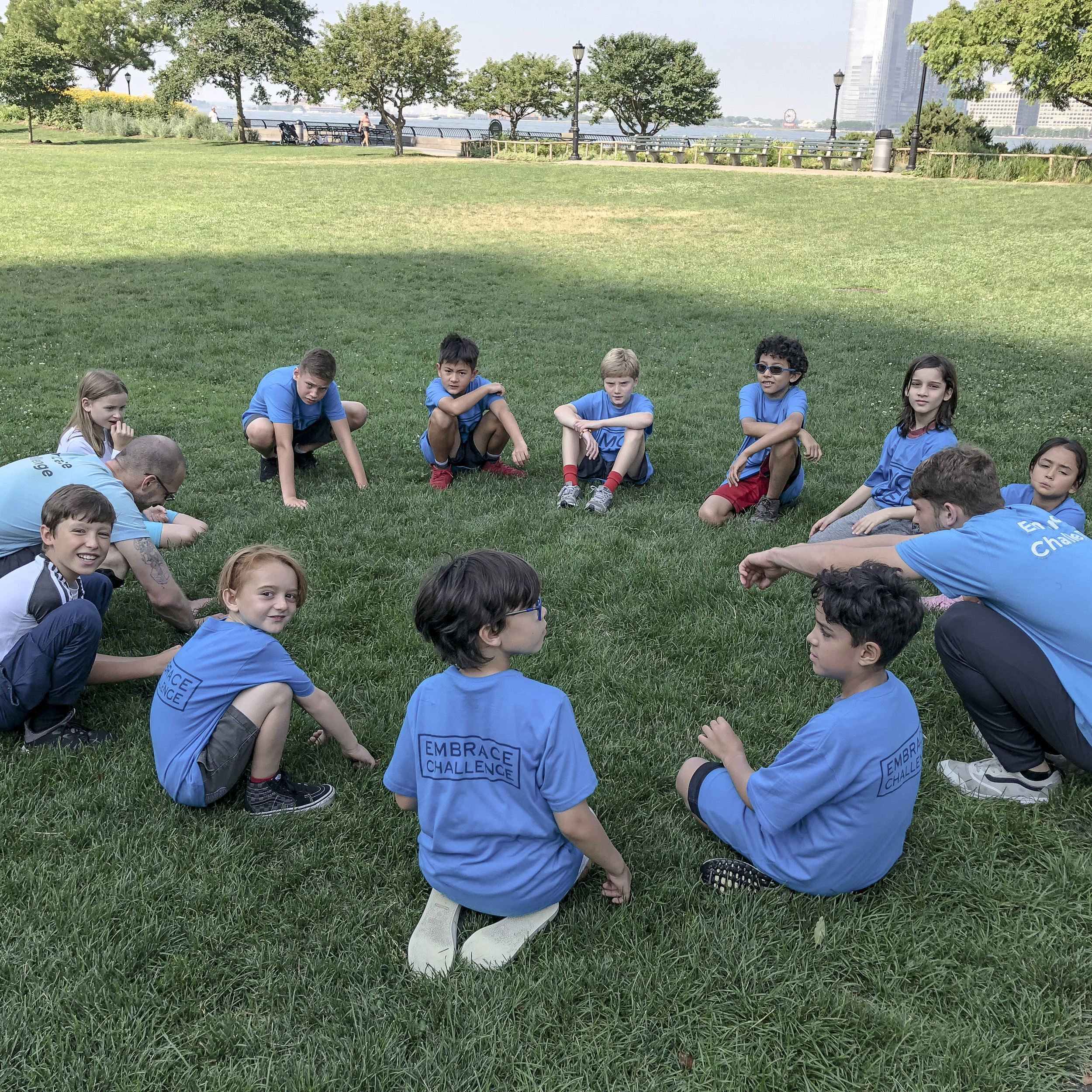 Summer Camp NYC Parkour Circle