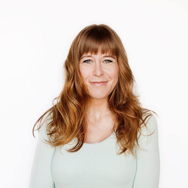 Artist and writer Nadia Plesne