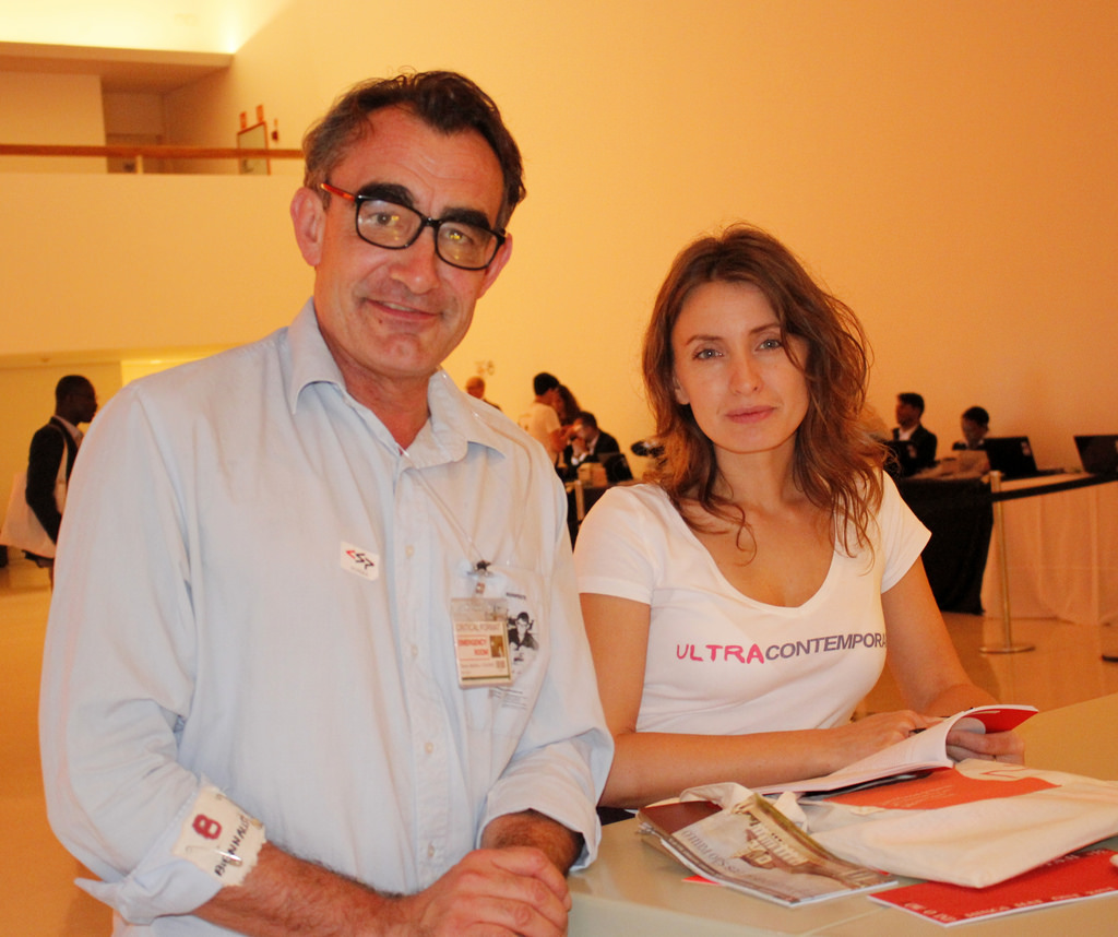 ArtistThierry Geoffroy/ COLONEL and curator Tijana Miskovic, founders of CUB