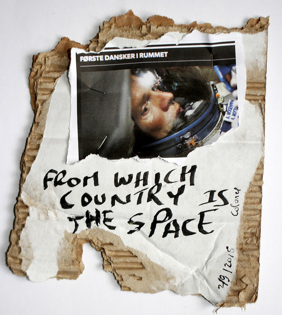 From which country is the space,  2/9 2015, carton