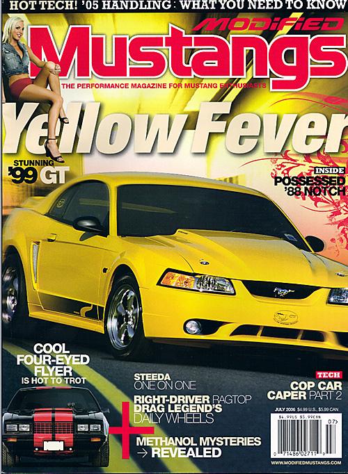 Modified Mustangs - July 2006