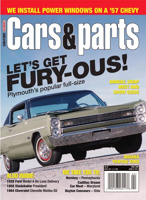 Cars & Parts - April 2009