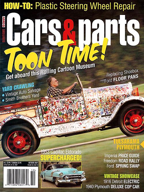 Cars & Parts - October 2007