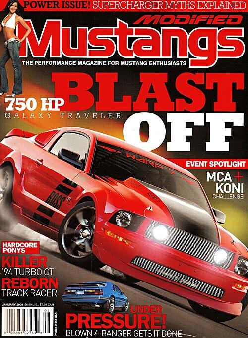 Modified Mustangs - January 2008