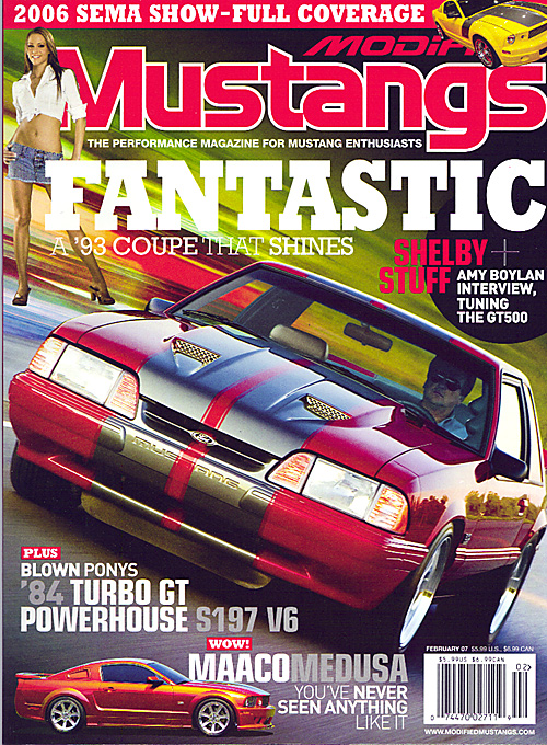 Modified Mustangs - February 2007