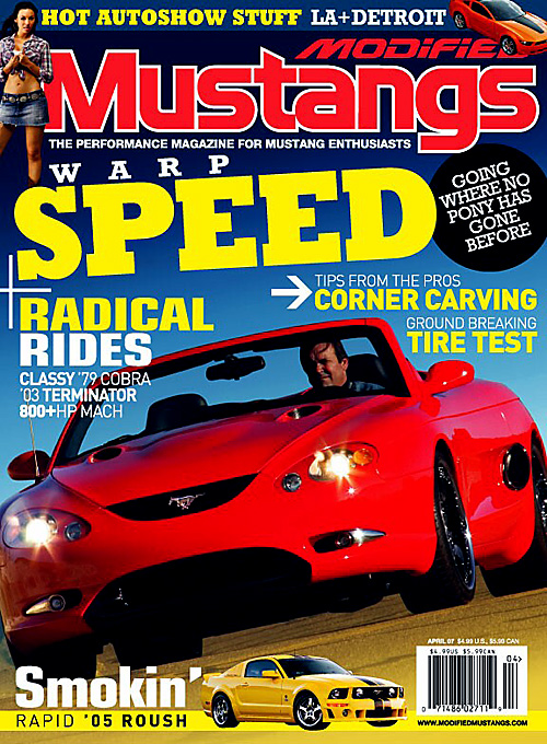Modified Mustangs - April 2007