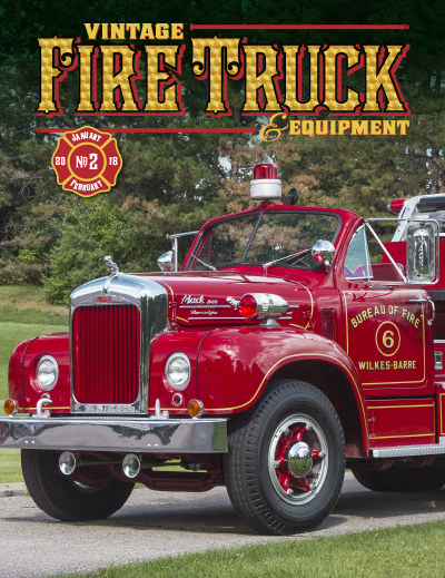 Vintage Fire Truck & Equipment - Issue #2