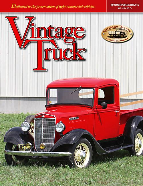 Vintage Truck - December 2016