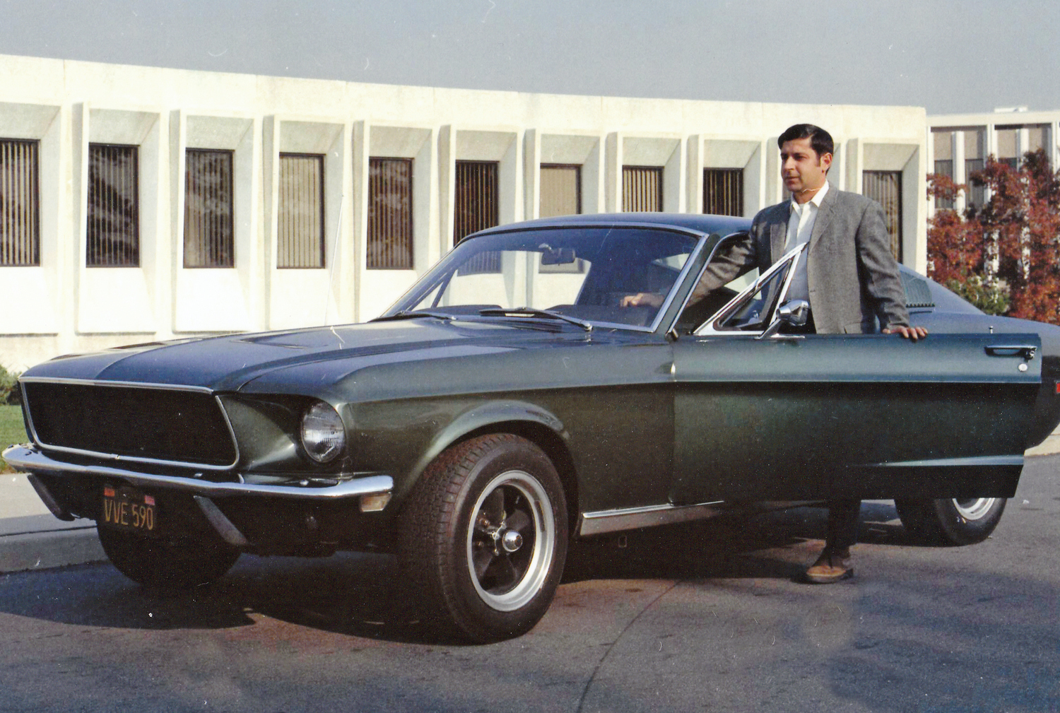 These images of surviving Bullitt no. 559 (circa 1973) are from the only known photo session of the car after it left the movie studio.  Property Frank Marranca