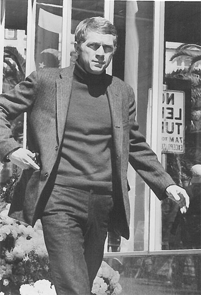 Steve McQueen was the King of Cool.