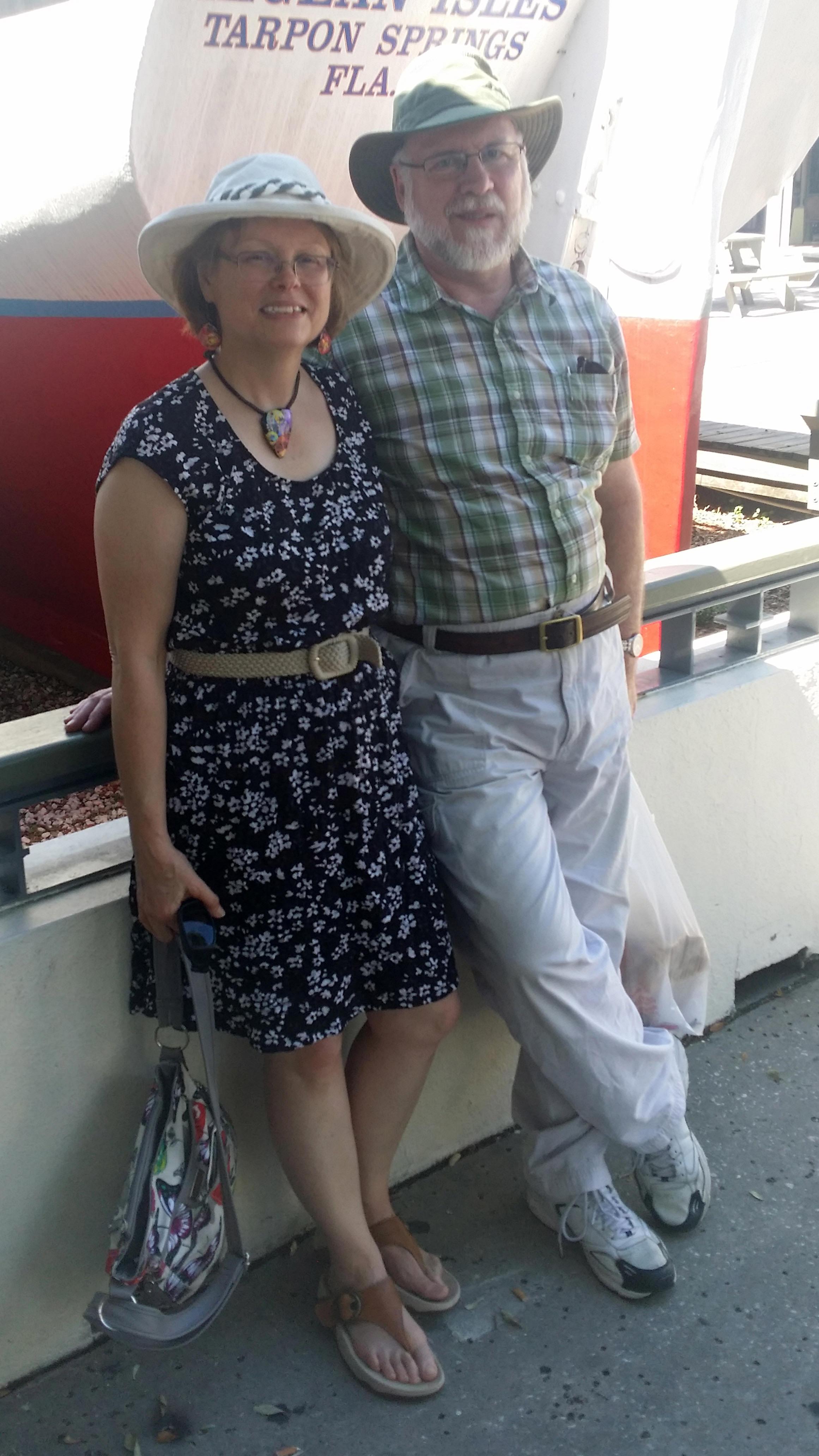 Linda and her husband, Dale.