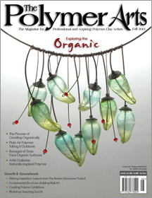 The 2013 Issue of The Polymer Arts magazine.