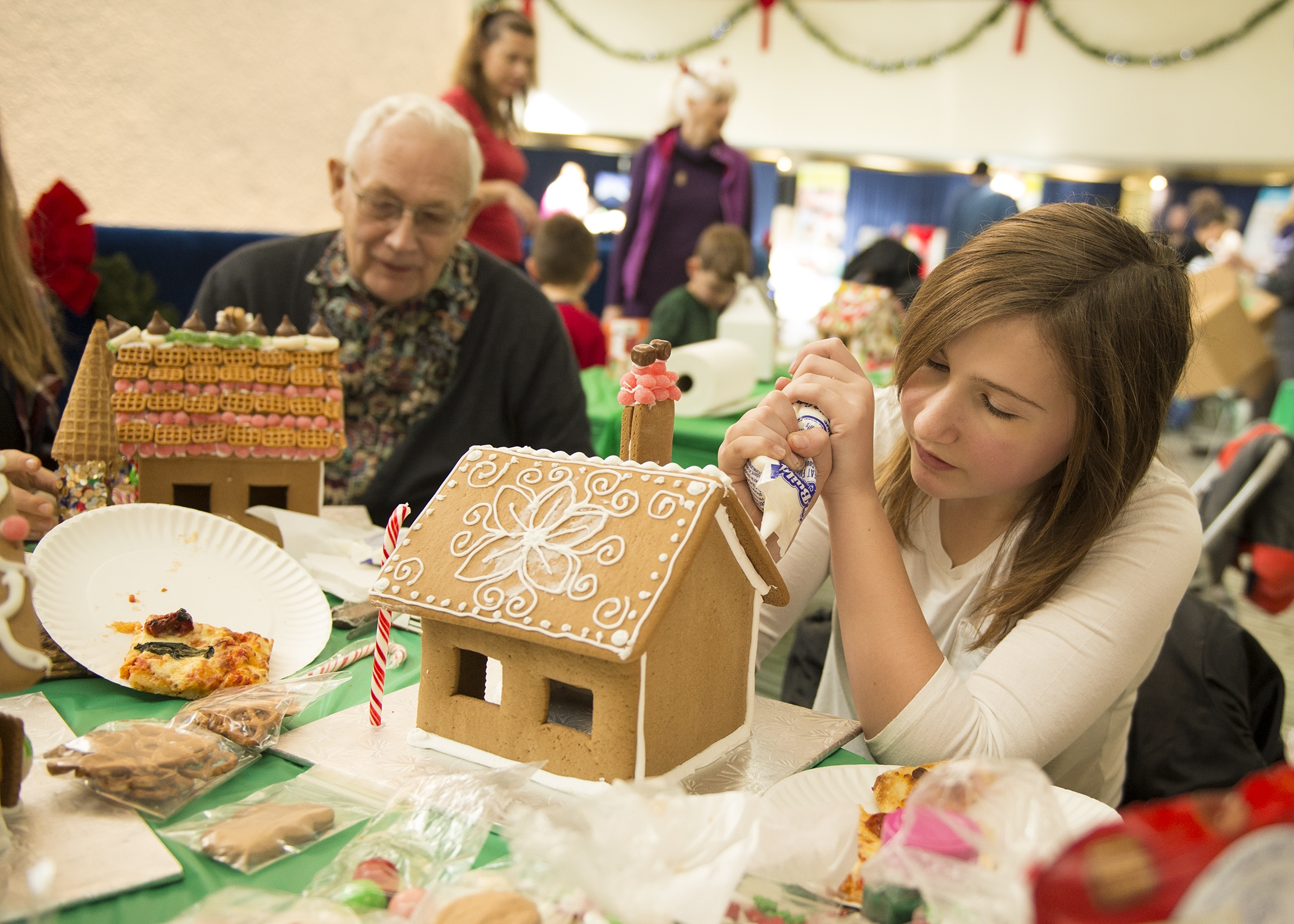 Gingerbread House for Habitat for Humanity