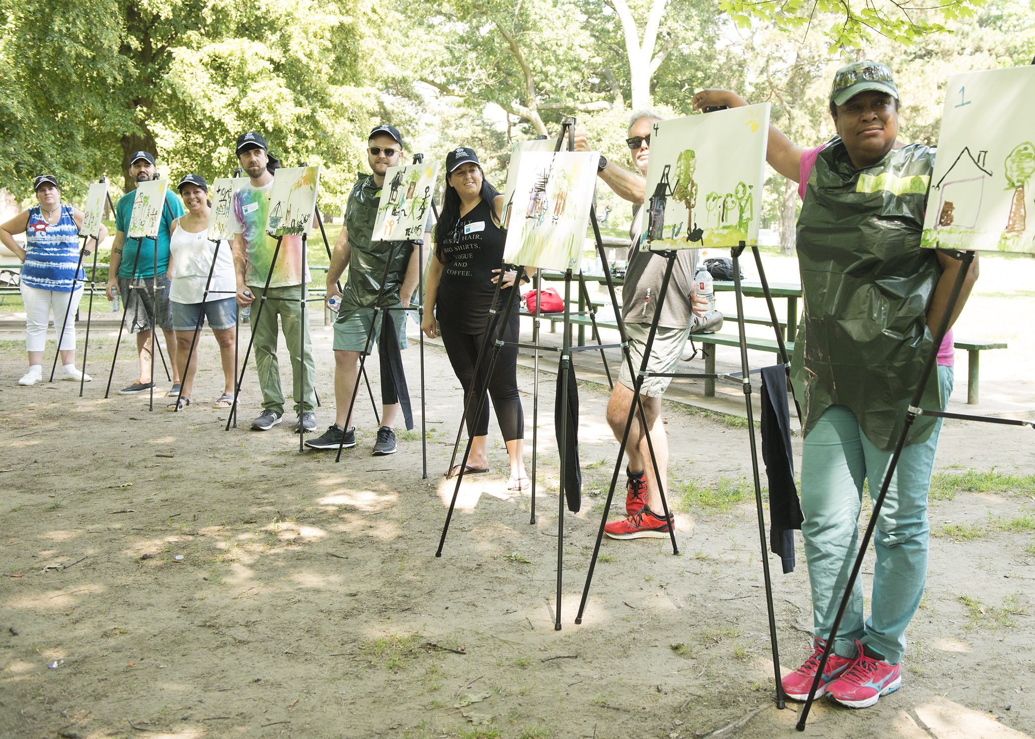 Painting Session High Park