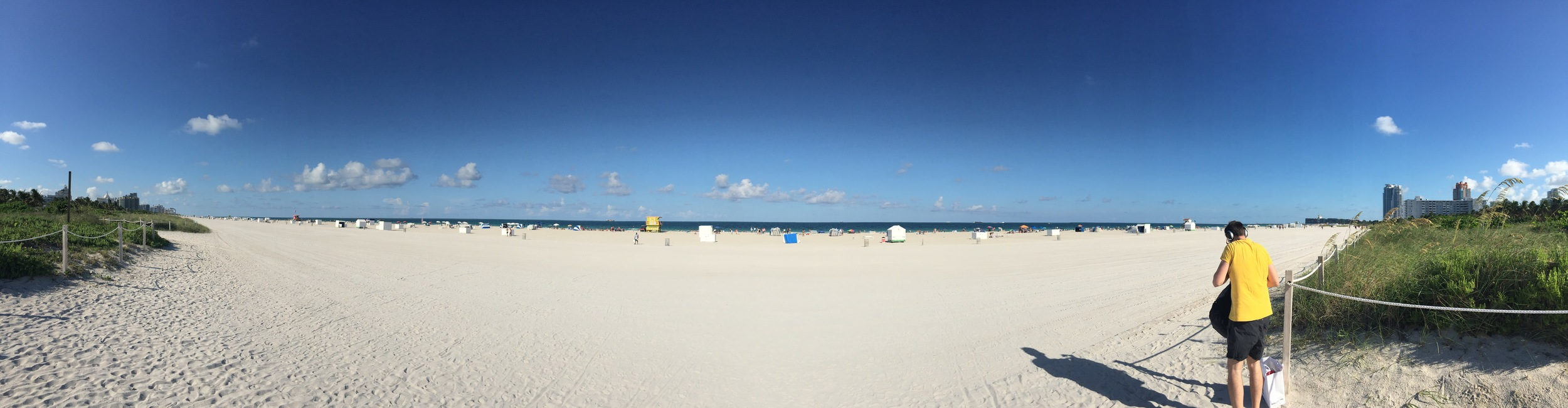 270 degrees of South Beach ocean-front.
