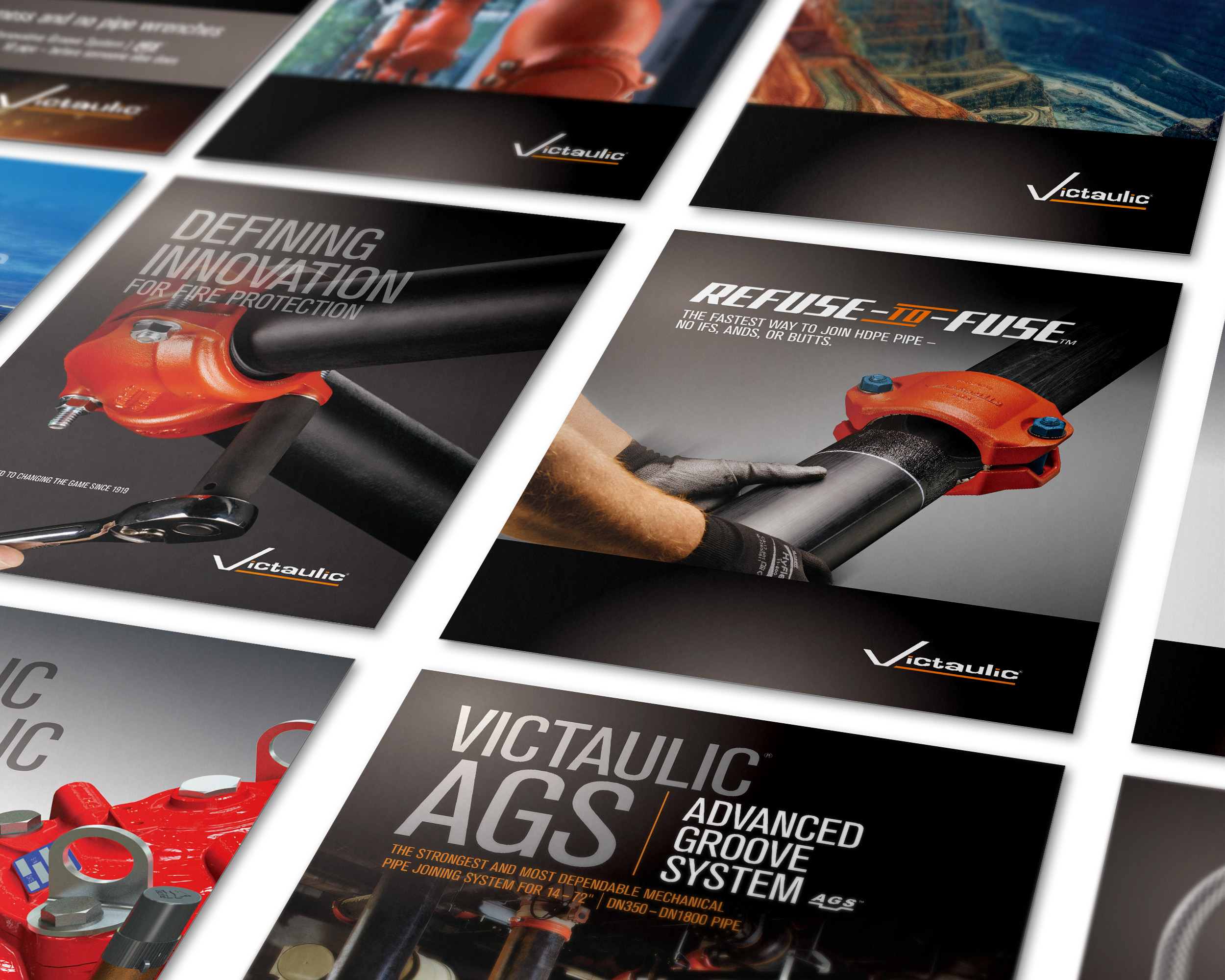 Victaulic | Suite of Marketing Materials