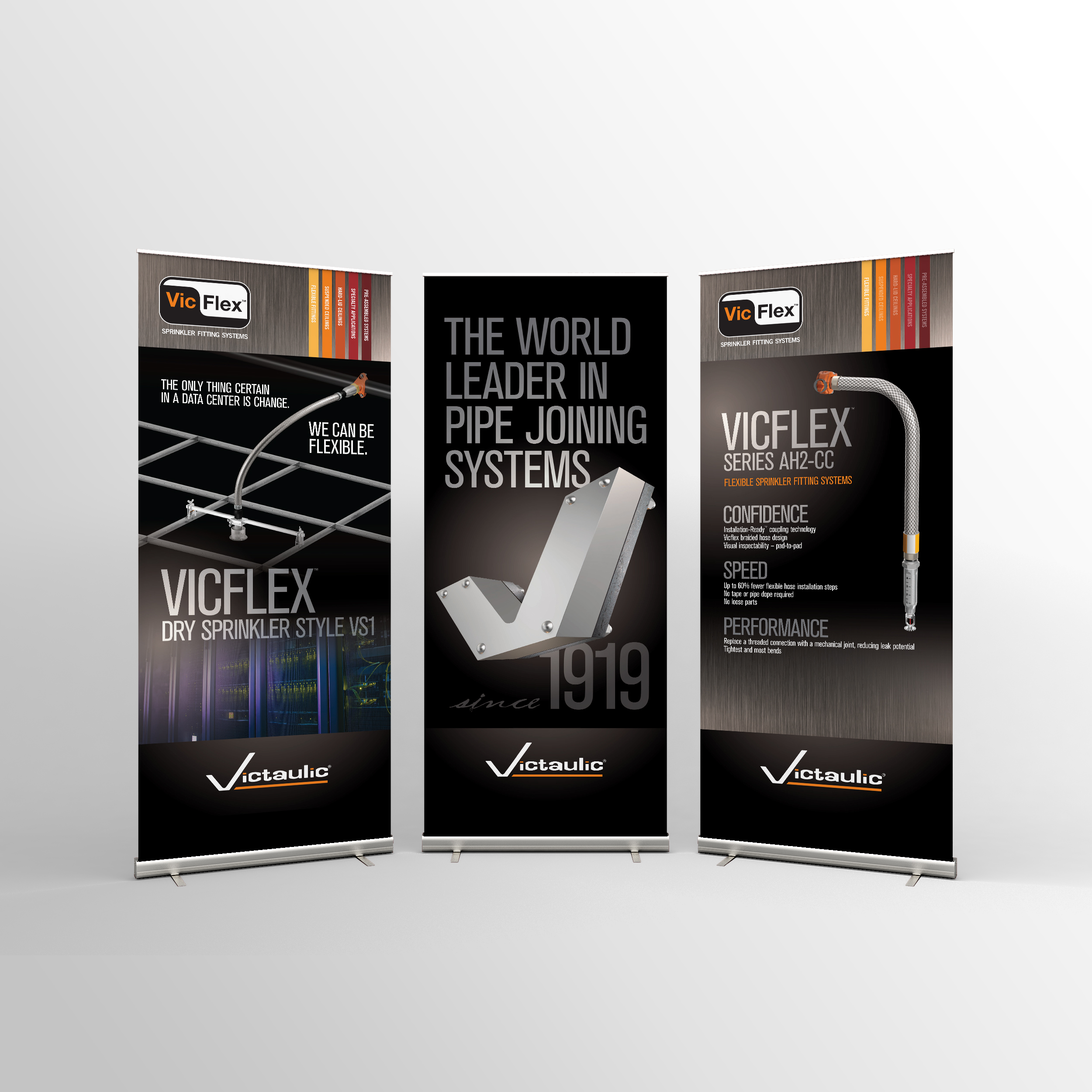 Victaulic | Display Banner Stands