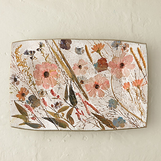 Wildflower platter terrain