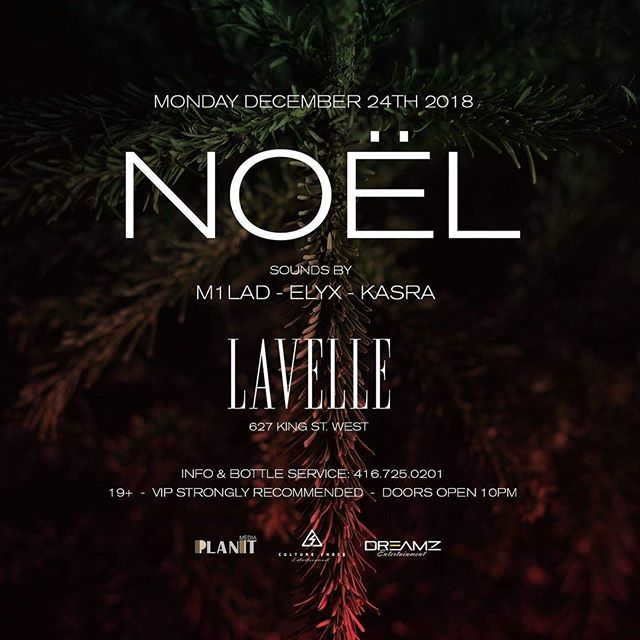Celebrating the holiday season in style at Lavelle this Christmas Eve for an upscale night to remember. Join us on Monday December 24th 2018