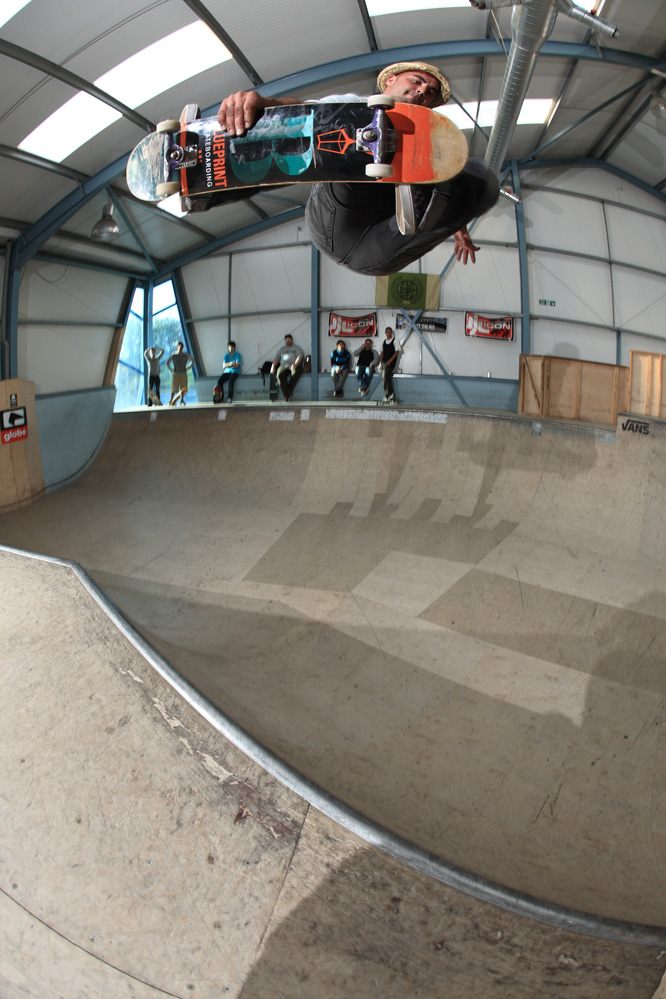 Throwback to when Carl Shipman casually popped in to destroy the mini ramp!