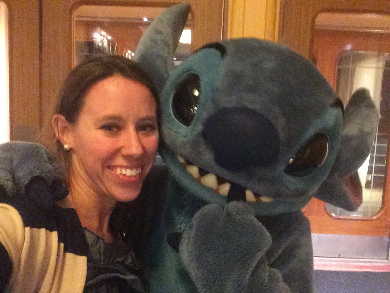 Stitch is all about the Selfies, his handler told me so