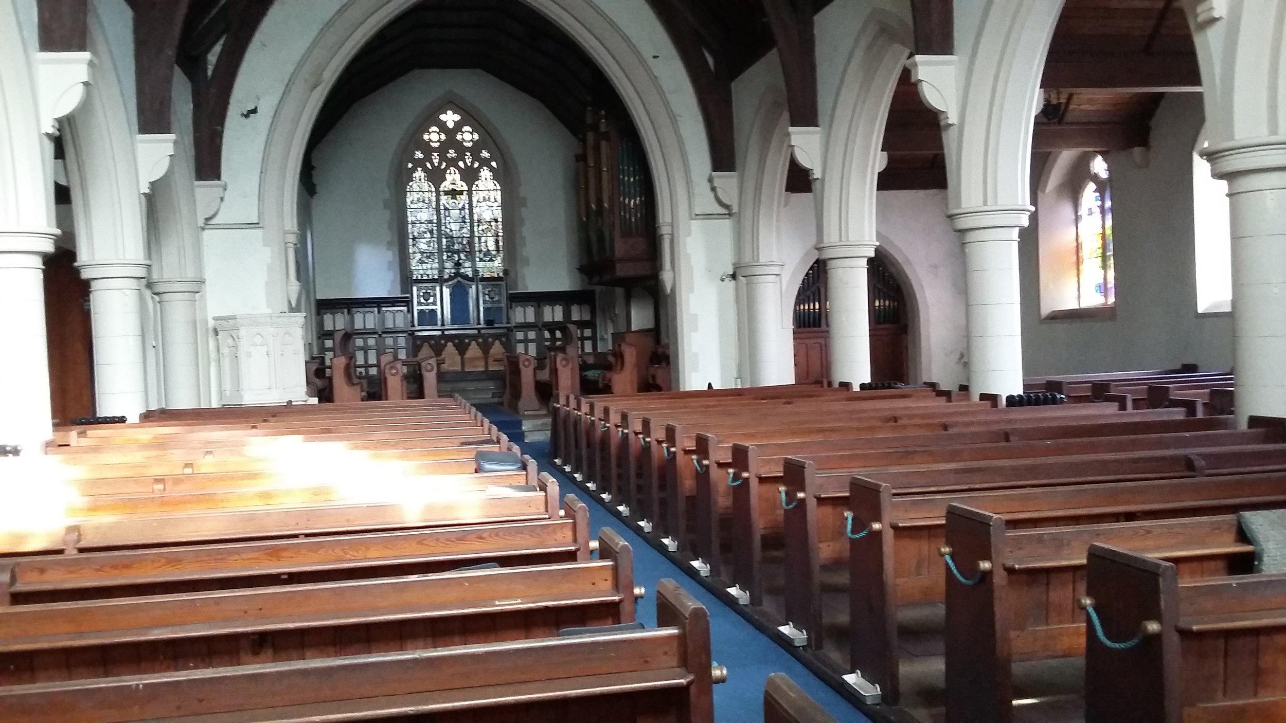 the main church hall