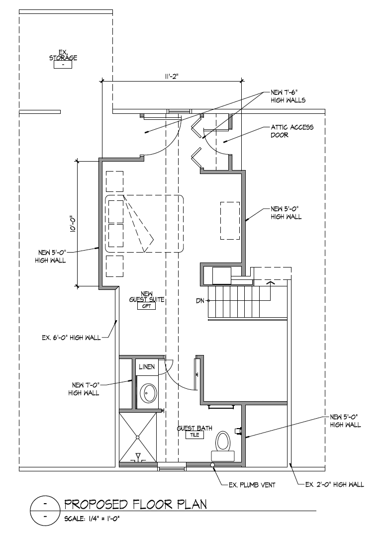 Proposed Floor Plan (Click image to view full plan)
