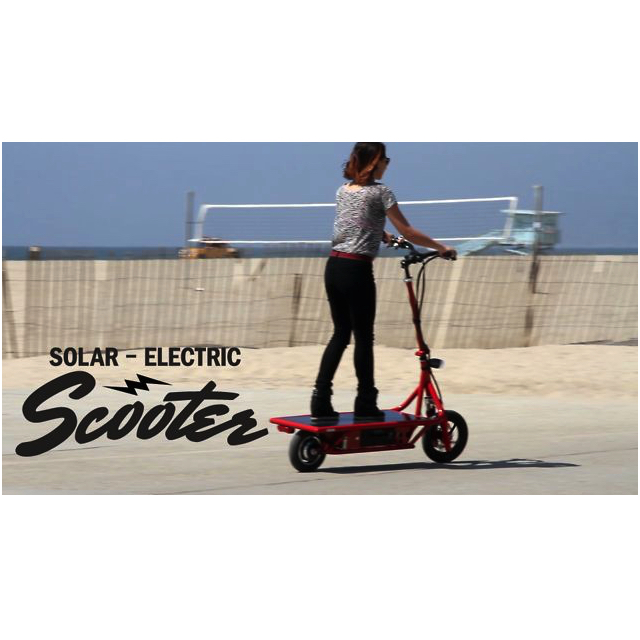 Solar-Electric Scooter