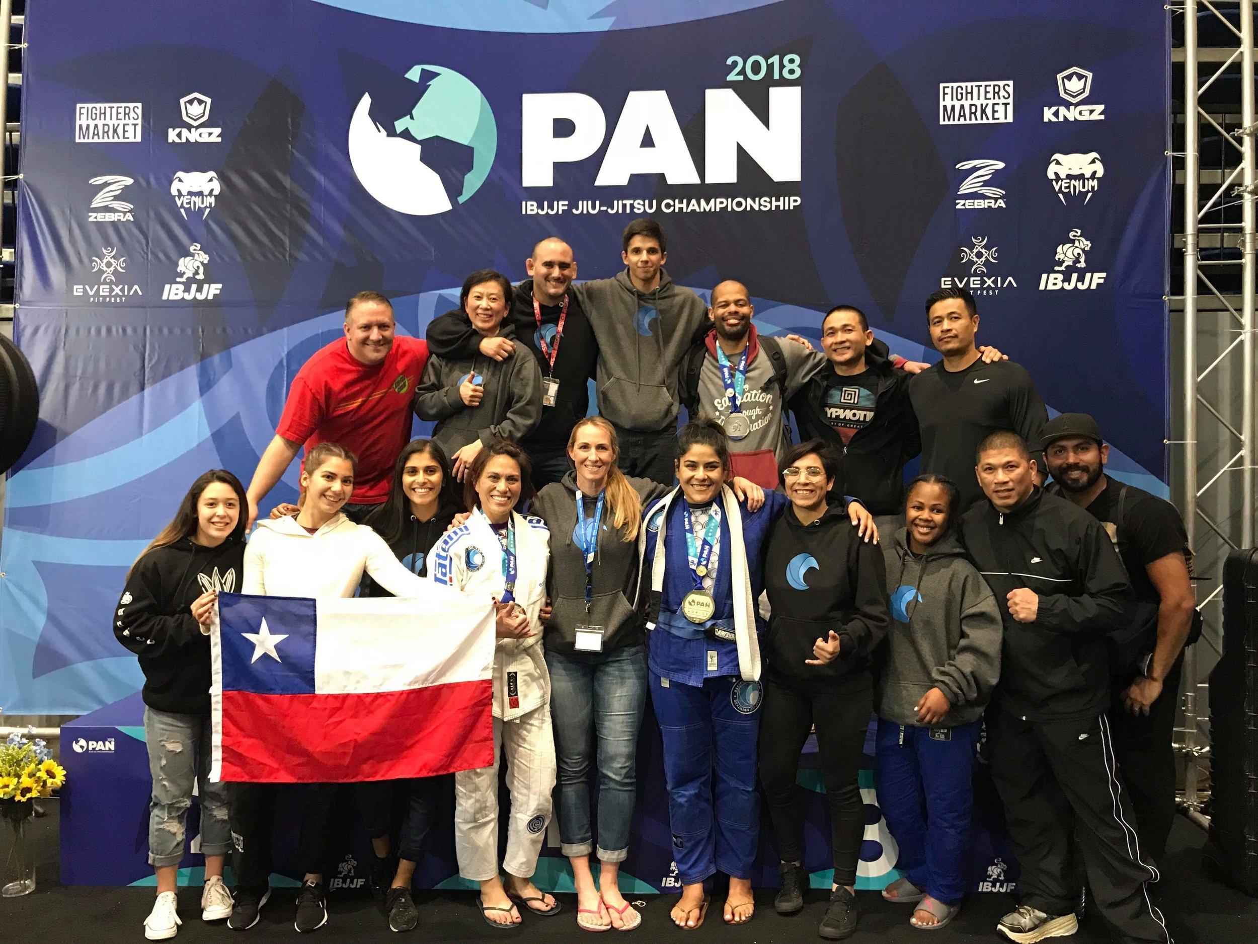 CAMP MEMBERS AT THE 2018 IBJJF PAN AMS CHAMPIONSHIP