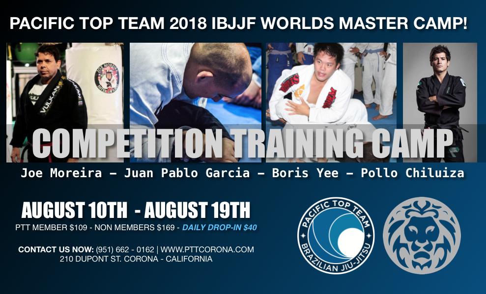 2018 Worlds Masters Training Camp