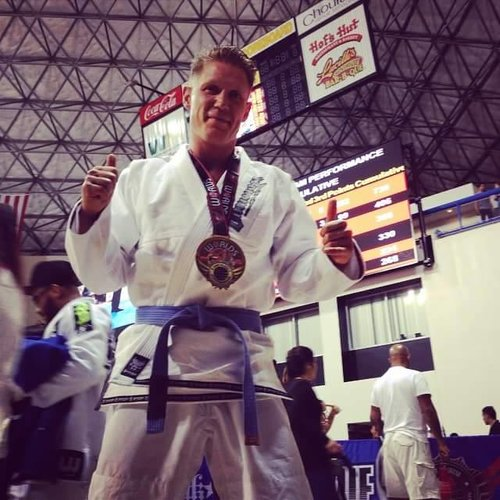 Brazilian Jiu Jitsu World Champion blue belt