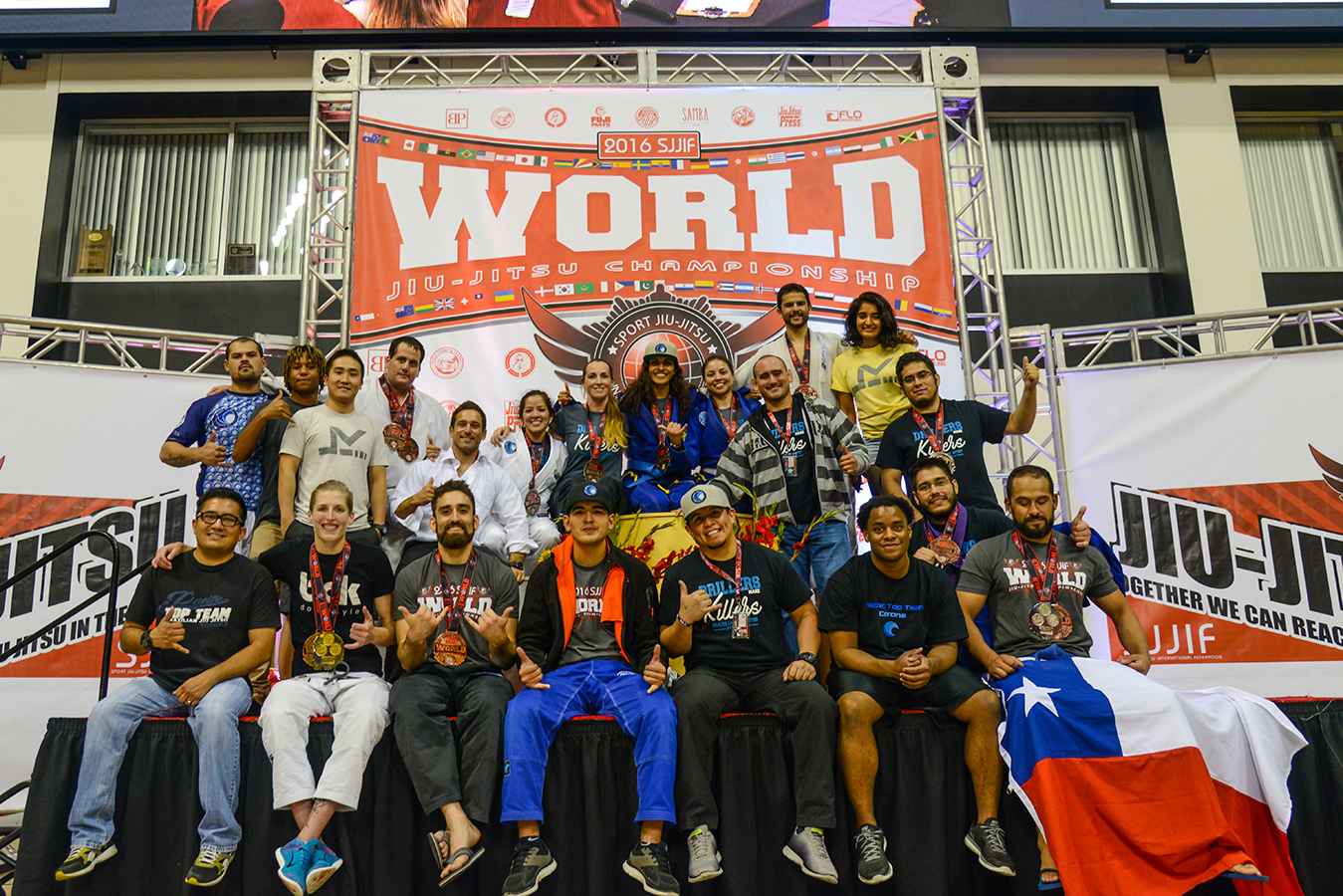 Brazilian jiu jitsu worlds training camp
